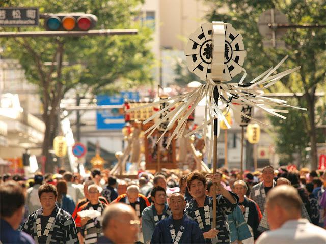 Yokosuka Mikoshi Parade, Kanagawa Pref.