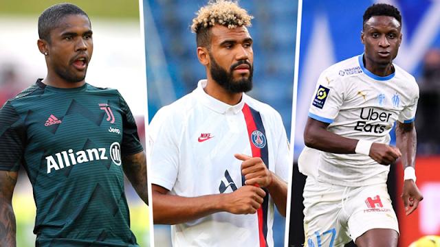 RESMI : Bayern Munchen Boyong Douglas Costa, Eric Maxim Choupo-Moting & Bouna Sarr