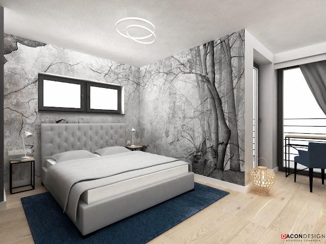 dacon-design-architekt-wroclaw-wnetrza-projekty-aranzacja-sypialnia-tapeta-wonderwall-illusion
