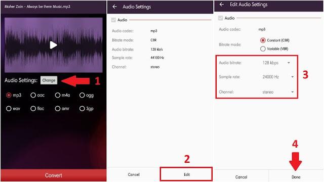 Cara Mengubah Format Audio