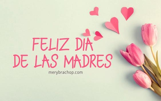 linda tarjeta feliz dia de las madres