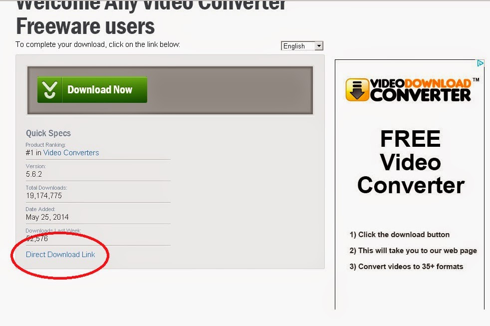 cara download gratis any video converter 3