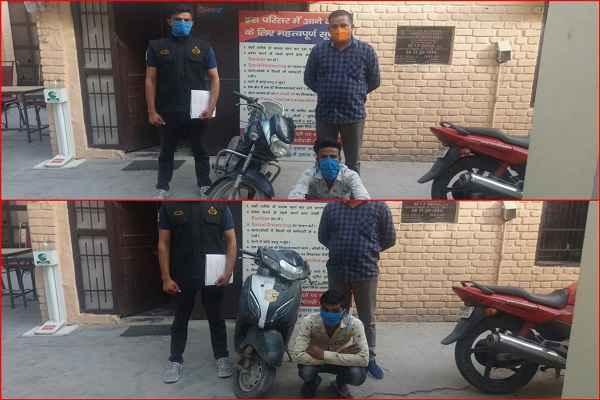 faridabad-crime-branch-uncha-gaon-arrested-2-chor-irfan-sajid