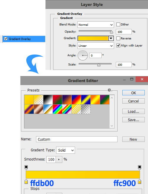 Gradient-overlay-settings-for-number-2-layer