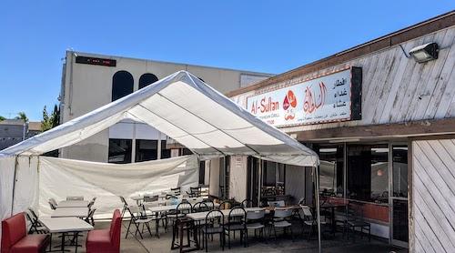 Exterior view of Al-Sultan Mediterranean Grill