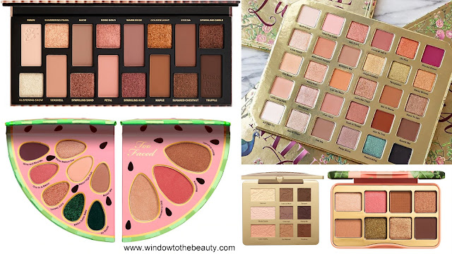 Too Faced Neutral Eyeshadow Palettes