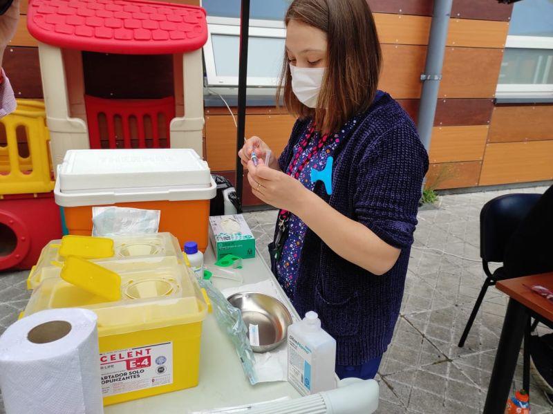 Puyehue: vacunación contra Covid-19 e Influenza