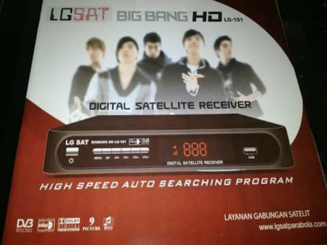 Update Software/Firmware LGSat BigBang HD Terbaru 2018