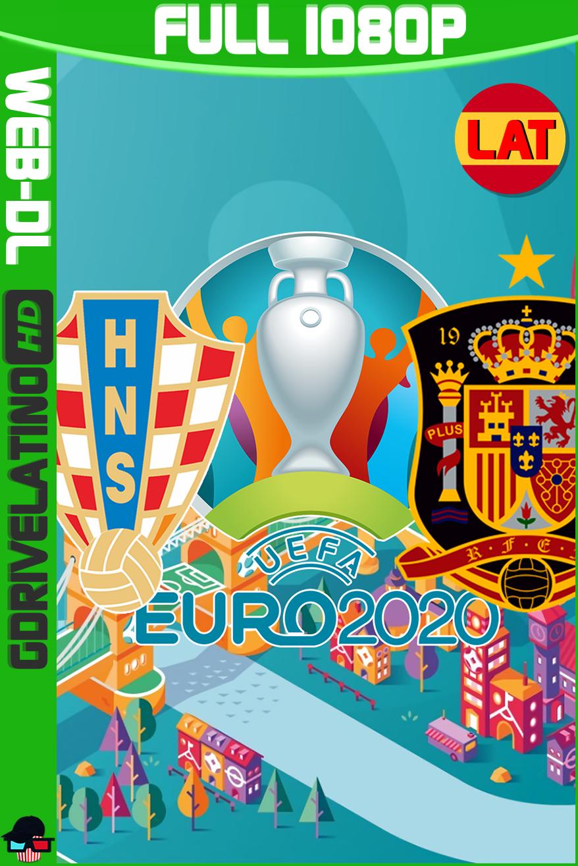 Croacia vs España: EURO 20 (2021) WEB-DL 1080p Latino MKV