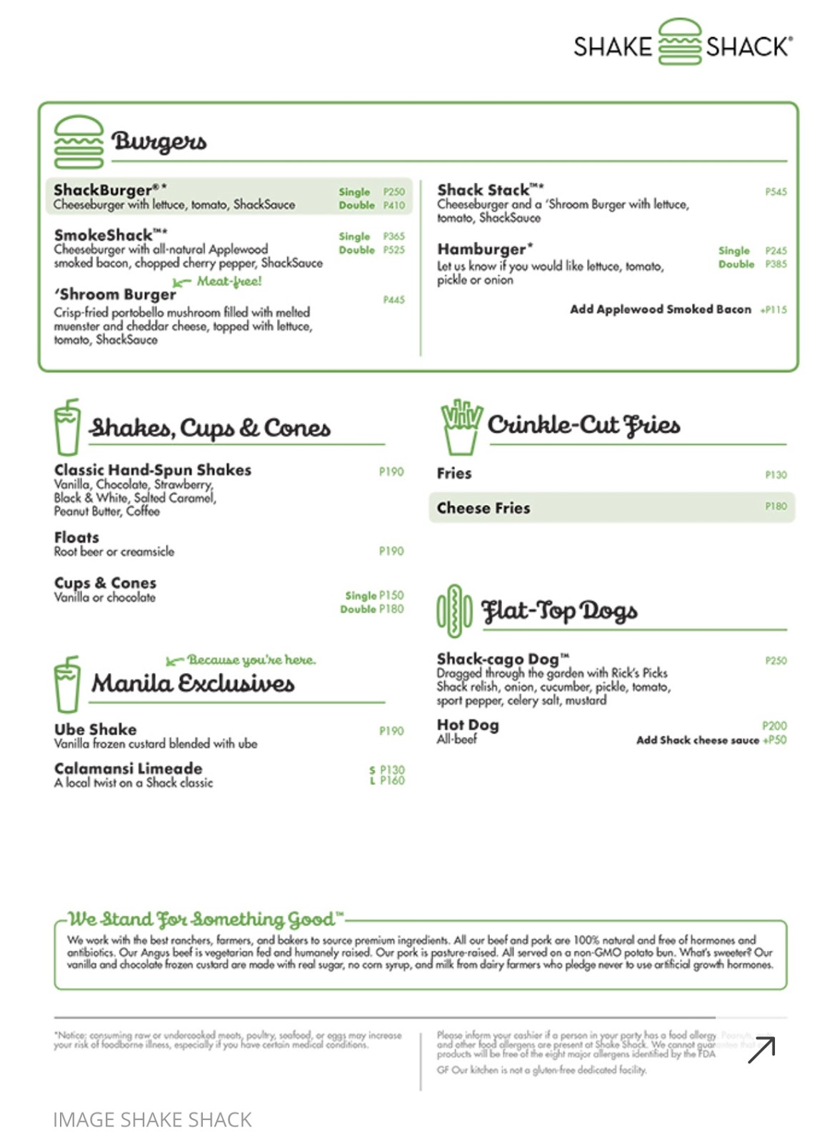 Cheat Sheet to Shake Shack Philippines - What Mary Loves