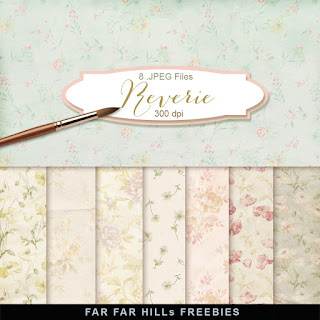 New Freebies Kit of Backgrounds - Reverie