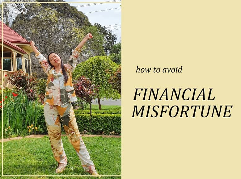how to avoid financial misfortune