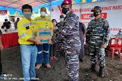 Tekan Penyebaran Covid - 19, PT MSM Dukung TNI AL Laksanakan Vaksin Bagi Warga Pesisir