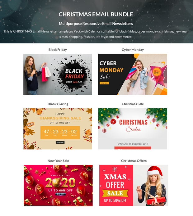 Christmas - Responsive Email Newsletter Template