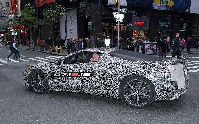 Novo Corvette 2020 (C8)