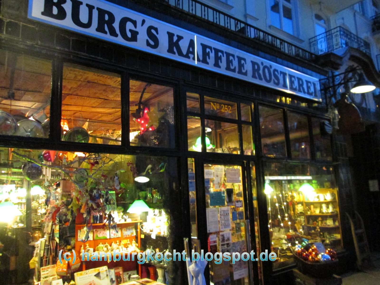 hamburg kocht burg 39 s kaffeer sterei in eppendorf. Black Bedroom Furniture Sets. Home Design Ideas