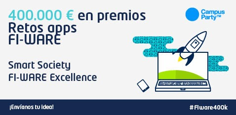 Convocatoria para los retos Smart Society y Fi-Ware Excellence #FIWARE400K