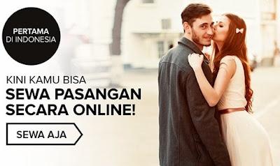Anda Jomblo? Pertama di Indonesia Aplikasi Sewa Pasangan Online!