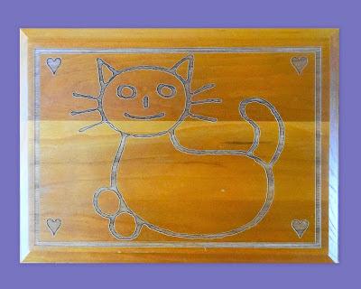 Cat Food Plaque