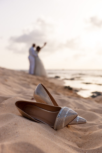 Guadeloupe trash the dress chaussures