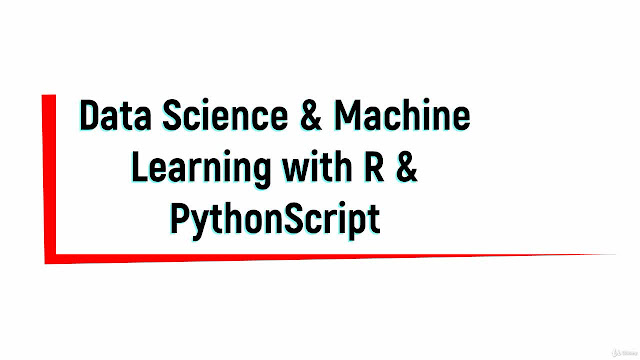 Data Science and Machine Learning Bootcamp with Python & R™