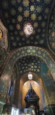 Kanopi tempat Tsar Alexander II berlumuran darah