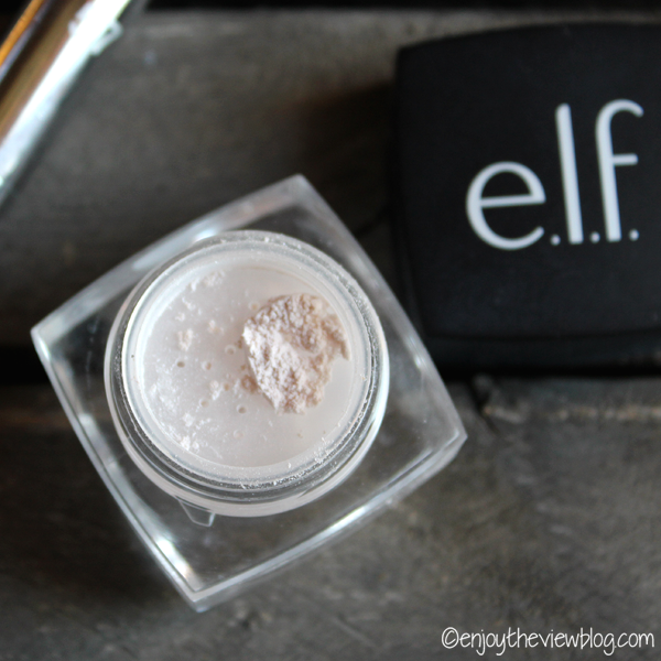 jar of e.l.f. undereye setting powder
