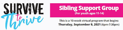 """Strive to Thrive: a program for """"siblings of family members with mental health needs"""""""