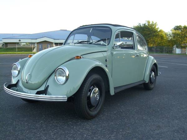 The Famous Ed Willson 1968 Volkswagen Beetle