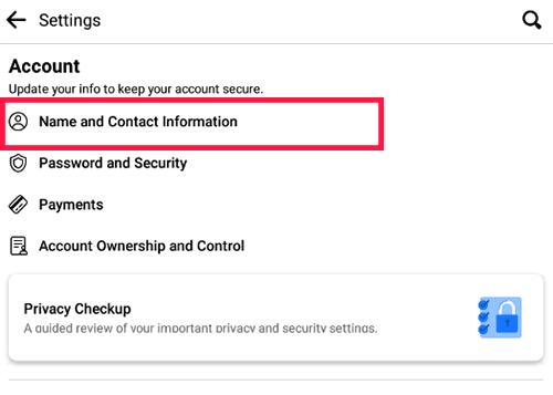 Cara Ganti Email FB Melalui HP