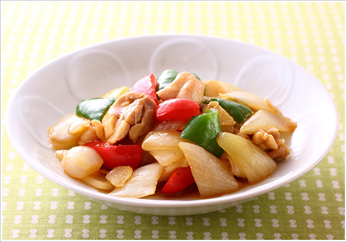 玉ねぎのトロトロ生姜炒め