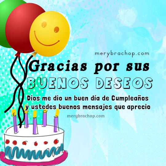 Frases cortas para mi facebook luego de mi cumpleaños, mensajes para los que me felicitaron, se acordaron de mi cumple por Mery Bracho