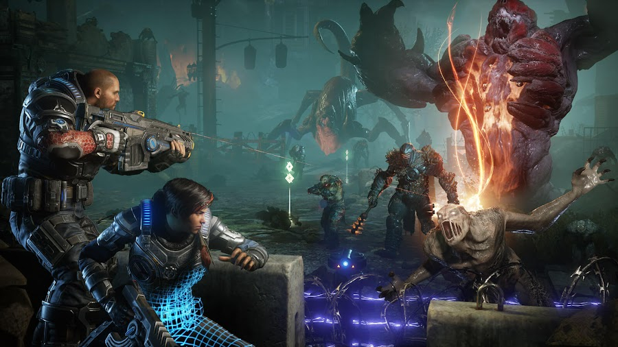 gears 5 xbox game pass e3 2019 kait diaz horde mode gamescom 2019