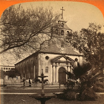 1886 image of outside of St. Augustine Catholic Church