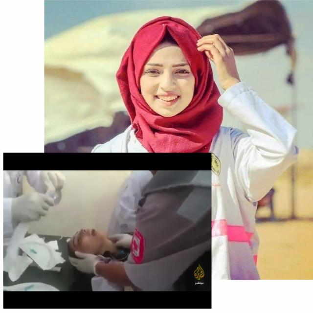 Inilah Detik-Detik Embusan Napas Terakhir Razan Dokter Muda yang Ditembak Israel