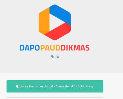 Aplikasi Dapodik PAUD versi 3.5.0