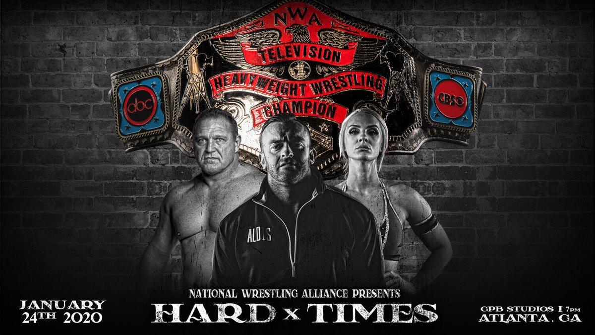 NWA anuncia o Hard Times 2 para dezembro