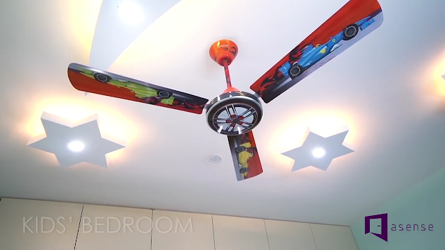Latest Ceiling Ideas For Home With Fan (11)