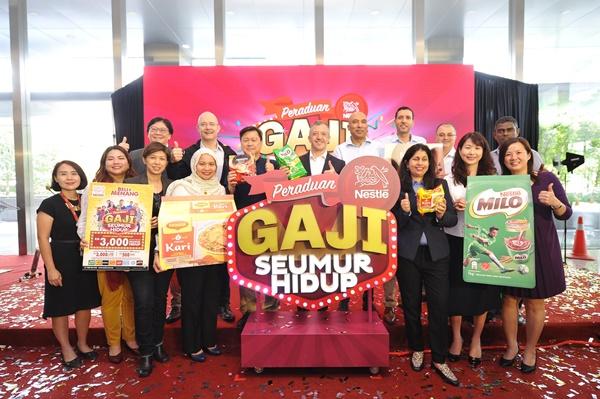 Jom Sertai Peraduan Nestlé 'Gaji untuk Seumur Hidup'!