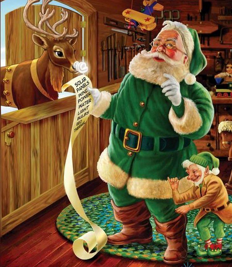cf8f3bb5345d O Pai Natal tem uma origem muito antiga. Nos países nórdicos, era costume  alguém vestir-se com peles e representar o