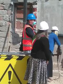 Avvio ufficiale lavori ristrutturazione Ospedale Lamon 03 maggio 2021
