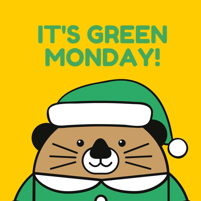 Green Monday Wishes Images download