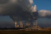 Smoke and steam billows from Belchatow Power Station, Europe's largest coal-fired power plant operated by PGE Group, near Belchatow, Poland November 28, 2018. (Photo Credit: Reuters/Kacper Pempel) Click to Enlarge.