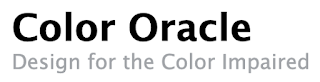 Color Oracle simulator