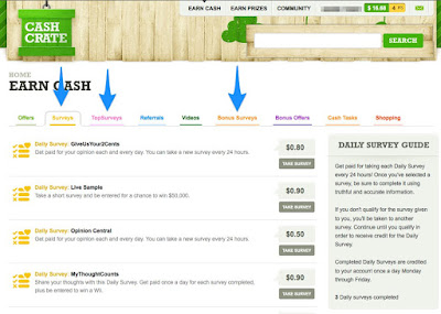 Make Money Online With CashCrate