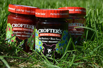 Crofters Organic Jam is Canadian and Non-GMO, and they are saving the bees