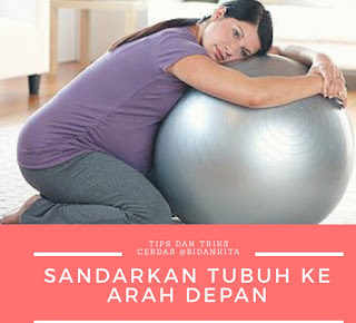 story of my journey gym ball birth ball untuk ibu hamil