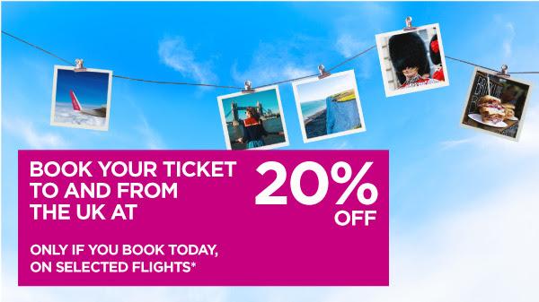 Wizz Air -20% ОТСТЪПКА за всички полети  от и до Англия / UK