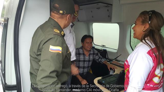 #GoberNorte: En Ocaña, Secretaría de Gobierno de Norte de Santander entrega CAI móvil #RSY #OngCF
