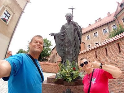 Imagem de João Paulo II em Cracóvia